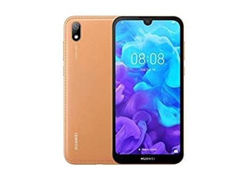 Huawei Y5 - Teléfono celular, 2019 AMN-LX3, SIM dual, 32 GB + 2 GB RAM, pantalla de 5.71 pulgadas, desbloqueado de fábrica (versión internacional), Ámbar marrón
