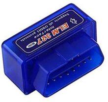 Generico productsmexicans - Escaner Automotriz OBD2 Bluetooth para Android y PC, se Puede Utilizar en los Autos Que Tenga ODBII - Color Azul