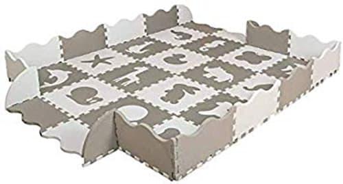 Uzuztain - Tapete de Animales armable para bebés y niños de foamy foami foam