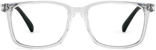 Cyxus Gafas para Mujer/Hombres Filtro de Luz Azul Anti Tensión de Oojos Lentes para Computadora [Mejor Sueño] (Lente Transparentes)