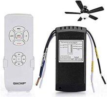 QIACHIP ventilador de techo ventilador remote control 110V