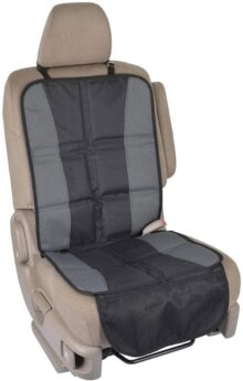 BDK SC058 InstaSeat Protectores de asientos para niños y bebés, respaldo antideslizante premium que protege el interior del vehículo para coche, SUV, furgoneta, camión, 1