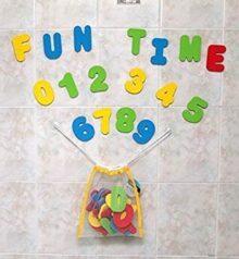 Click N' Play Números y Letras  para Baño, 36 Piezas