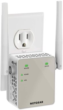 Extensor de Rango WiFi NETGEAR AC1200 - Essentials Edition (EX6120-100NAS)
