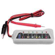 Probador De Batería De Automóvil, 2-14.8 V Auto Van Probador De Batería Almacenamiento/Mantenimiento Cargador Sistema Analizador Herramienta