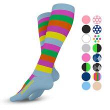 Go2Socks Calcetas de Compresion para Hombres y Mujeres 20-30 mmHg