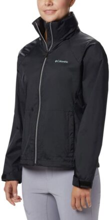 Columbia Switchback III - Chamarra Impermeable Ajustable Chaqueta Impermeable para Mujer