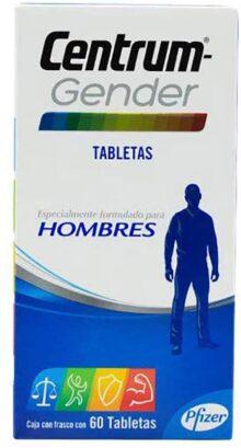 Centrum Gender Hombres, 60 Tabletas