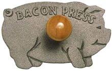 Norpro - Prensa para tocino (hierro fundido, mango de madera)