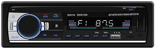 MixMart Autoestéreos Reproductor estéreo para auto MP3 con FM / USB / AUX Estuche para automóvil de 7 pulgadas Estuche para automóvil con Bluetooth Tarjeta de llamada Bluetooth Interconexión de teléfono móvil + control remoto