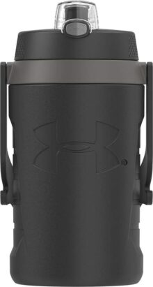 Under Armour Sideline - Botella para Agua, Negro, 1.8 l