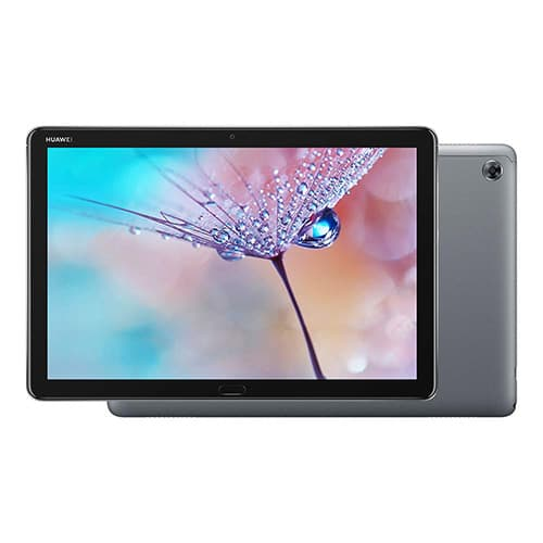 HUAWEI MediaPad M5 Lite Without Pen, Tablet Wi-Fi, 10.1 Inches, Mediatek 2.36 GHz, 3 GB, 32 GB, Android 8.0 Oreo+Emui 8.0, Gris, Negro