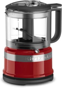 KitchenAid KFC3516BM - Picador de alimentos (3,5 tazas), Empire Red, Una talla, 1