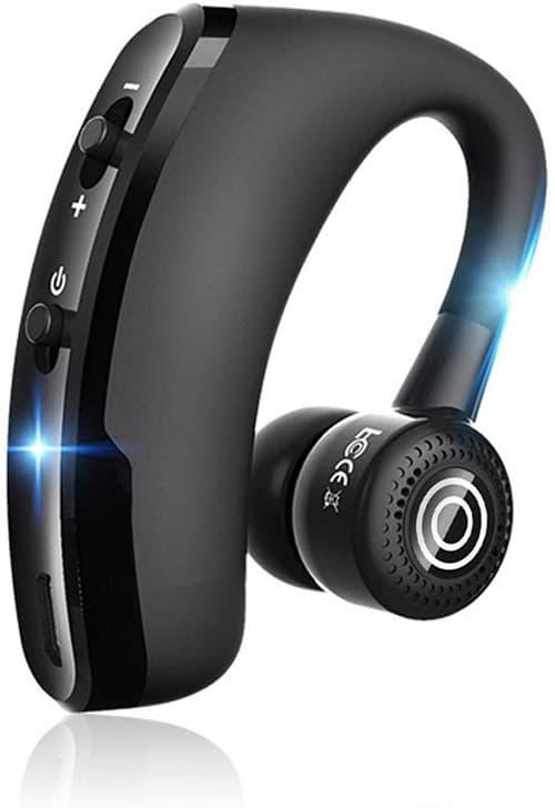 Auricular Bluetooth 4.1, TFHEEY Manos Libres Bluetooth Auriculares Cancelación del Ruido Auricular Inalámbrico con Micrófono Integrado para Móvil iPhone, Samsung, HUAWEI Sony Lenovo HTC LG y más Smartphone