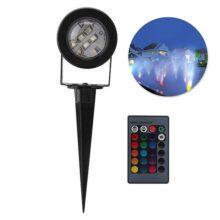 koulate 2 Pack Control Remoto Lámpara Sumergible LED, Luz Submarina Multi-Color de la Decoración para el Tanque de Peces Piscina Jardín Estanque