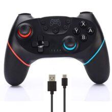 CuleedTec Control Pro Inalámbrico Joystick para Consola Nintendo Switch, con Giroscopio y Sensor de Gravedad, Vibración dual, Función Turbo y Función de Captura (Sin NFC y Sin Función de Despertador)