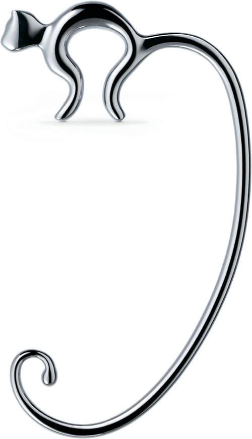 Alessi FGO01 Hook - Hooks Stainless Steel