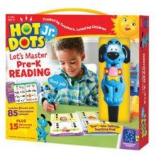 Educational Insights Hot Dots Jr. Colección de Aprendamos la Lectura Preescolar con el Bolígrafo Ace