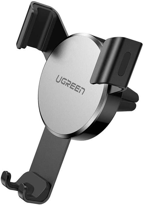 UGREEN Soporte Auto iPhone 11/iPhone 11 Pro/XS MAX/XS/XR/X Soporte Celular Automatico Ajustable por Gravedad, Soporte de Coche Universal para Huawei P30, Samsung S10 S9, One Plus, Motorola, LG GPS