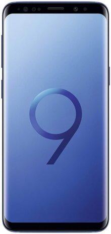 Samsung Galaxy S9+ desbloqueado Smartphone-Midnight negro-Garantía de US, Sólo el teléfono, S9, Azul coral (Renewed)