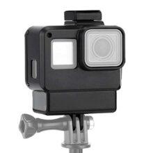 Estuche Protector para GoPro, Funda Protectora portátil Carcasa Cubierta para Montaje de Zapata Caliente para GoPro Hero 5 6 7