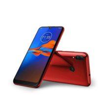 """Motorola Moto E6 Plus (32 GB, 2 GB RAM) 6.1"""" pantalla de máxima visión, 3000 mAh batería extraíble, hotspot, FM Radio, US + Global 4G LTE Dual SIM GSM desbloqueado de fábrica XT2025-1 - Modelo internacional, Cereza"""