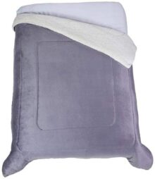 Colchas Concord CBOK0109 Cobertor Argos, King, Gris