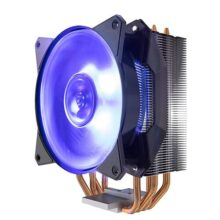 Cooler Master MA410P RGB CPU Air Cooler 4 CDC Heat Pipes Master Fan 120mm Intel/AMD AM4 Support
