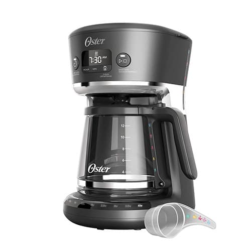 Oster 2083222 Cafetera Drip, color Gris/Negro
