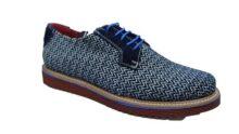 Zapato Casual para Caballero Suela Extra Ligth Color Naves Azules