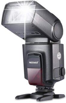 Neewer TT560 Flash Speedlite con Zapata Cliente Estandard para Canon Nikon Panasonic Olympus Pentax y otras Cámaras DSLR y Digitales
