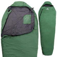 All Season XL - Saco de dormir con capucha y bolsa de compresión, perfecto para acampada y mochila. Rango de temperatura: 32 – 60 ºF. Se adapta a adultos de hasta 6 pulgadas. Ripstop - Carcasa impermeable y construcción de relleno muy suave
