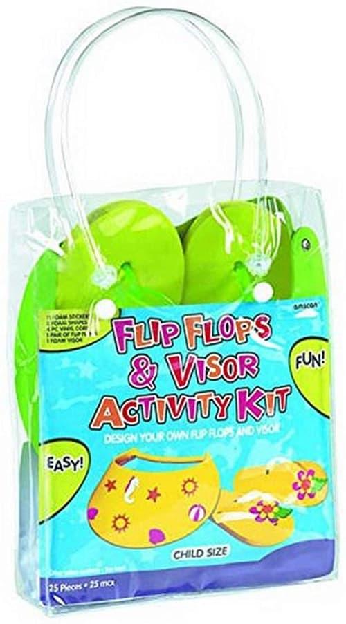 Amscan 391772 - Chanclas de fiesta, tamaño del paquete, color verde