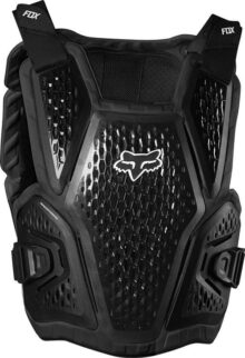 Fox Racing Raceframe Impact CE - Protector de Pecho para Motocicleta Todoterreno para Hombre, Universal, Negro, Large - X-Large