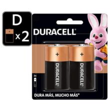 Duracell Pilas D 2 Pza - Alcalinas, Pack Of 1, Pack of 1