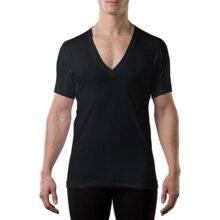 The Thompson Tee Camiseta Interior antisudor con Refuerzo Antimicrobiano EN Las Axilas - Corte Regular - Cuello Redondo