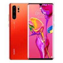 "Huawei P30 Pro - Smartphone 6.47"" FHD+, 40MP Leica Quad Camera, 256 GB / 8 GB, Desbloqueado, Rojo (Amber Sunrise)"