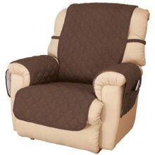 OakRidge Comforts Deluxe Microfiber Recliner Cover Chocolate