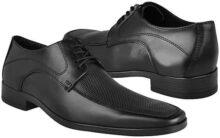 STYLO Zapatos DE Vestir 13H246 Piel Negro