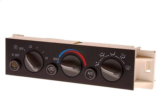 ACDelco 15-72547 GM equipo original panel de control de calefacción y aire acondicionado con interruptor de desempañador de ventana trasera