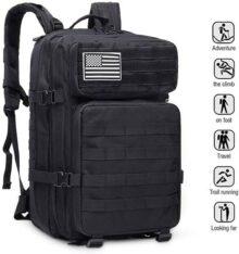 Bolsa exterior para hombres EUATEO, bolsa para el desierto, tácticas militares, bolsa de asalto, mochila, chaqueta exterior, bolsa de camping, camping, montañismo, 3 días de viaje, capacidad 40 litros