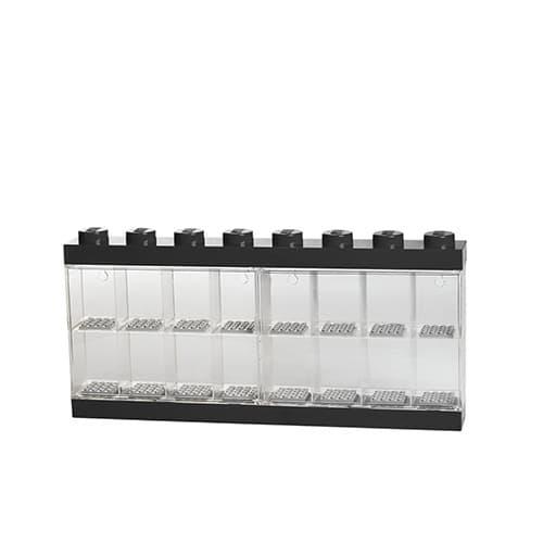 Lego Minifigure Display Case 16 Black