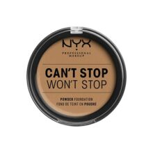Nyx Professional Makeup Can't Stop Won't Stop Base Maquillaje en Polvo , Golden Honey, Paquete de 1