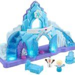 Sets de Juego Preescolares Fisher-Price Little People Frozen Palacio de Hielo de Elsa