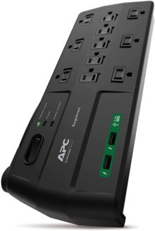 Apc Performance Surgearrest 11 Outlets With 2 Usb Charging Ports (5V, 2.4A In Total), 120V