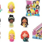 Disney Series 9 Princesses - 3D Foam Key Ring in Blind Bag