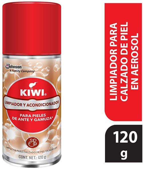 Kiwi Limpiador para Zapatos de Piel, Ante y Gamuza, 120 g