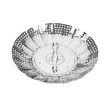 Metaltex 254300 Canastilla vaporera Inox multidiámetros