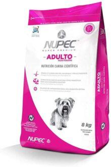 Nupec, Croquetas para Perros, Adulto Razas Pequeñas, 8 kg, El empaque puede variar