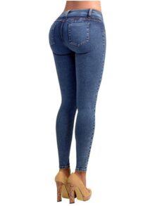 Lowla Pantalones de Mujer Levanta Glúteos Skinny Jeans Colombianos Push Up